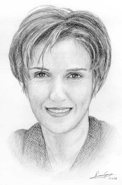 Pencil Drawings of less famous people