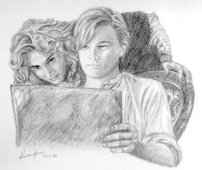 Titanic Pencil Drawings Titanic